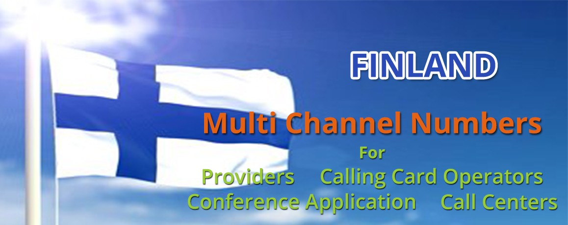 Finland Landline and Mobile  Numbers with unlimited channels for Calling Cards &  Call Centers