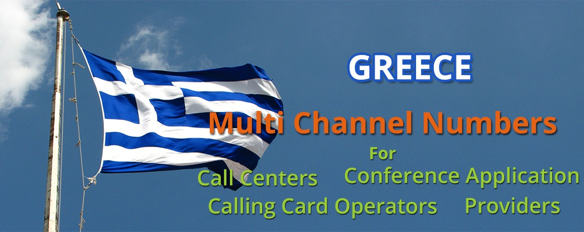 Greece Virtual Numbers with Unlimited Channels | No Local Address Proof
